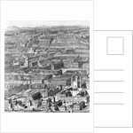 A prospect of the City of London by Johannes Kip