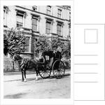 Hansom Cab by English Photographer