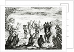 The Hottentots Worship the Moon by English School