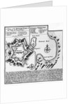 A Plan of the Dutch Fort at the Cape of Good Hope and A Draught of Table Bay by English School