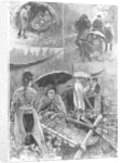 With the distressed hop-pickers in Kent by Henry Charles Seppings Wright