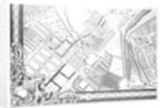 A Map of Chelsea by John Rocque