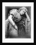 Illustration for the poem 'Mariana' by Alfred, Lord Tennyson by Julia Margaret Cameron