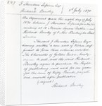 Publishing contract between Joseph Sheridan Le Fanu and Richard Bentley for 'The Chronicles of Golden Friars' by English School