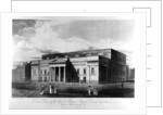 East Front of the New Theatre Royal, Covent Garden by John Hodges Benwell