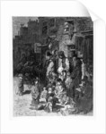 Wentworth Street, Whitechapel by Gustave Dore