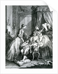 A Scene from 'Le Malade Imaginaire' by Moliere by Francois Boucher