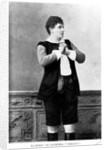 Katherina Klafsky as Leonora from 'Fidelio' by English Photographer