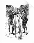 The Line of Beauty, cartoon in 'Punch' by George L. Du Maurier