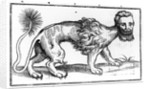 Manticore from 'Historie of Foure-Footed Beastes' by Edward Topsell by Edward Topsell