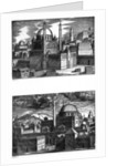 Mosques of Constantinople by Melchior Lorck
