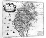 Map of Cumberland by Robert Morden