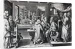Ser, Sive Sericus Vermis by Jan van der Straet