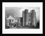 Layer Marney Tower, Essex by William Henry Bartlett