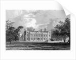 Hill Hall, near Epping, Essex by William Henry Bartlett
