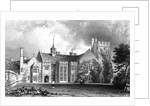 Horeham Hall, near Thaxted, Essex by William Henry Bartlett
