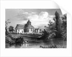 Little Maplestead Church, Essex by William Henry Bartlett