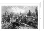 Chipping Ongar, Essex by William Henry Bartlett