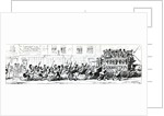 Omnibus's to the Great Exhibition every ten minutes by George Cruikshank