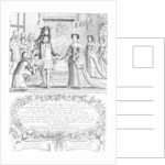 John Ogilby presenting his subscription list for 'Britannia' to the King and Queen by English School