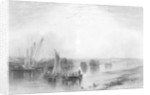 Chatham, Kent, published in Finden's 'Ports and Harbours' by Henry Warren