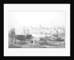 View of the port and town of Newcastle upon Tyne by Thomas Miles Richardson