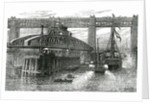 Opening of the new swing bridge at Newcastle-upon-Tyne by English School