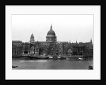 View of St. Paul's Cathedral from Bankside by English Photographer