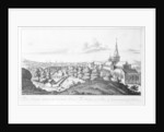 The Prospect of ye Town of Glasgow from ye North East by John Slezer