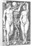 Adam and Eve by Barthel Beham