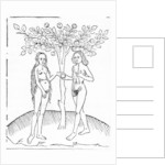 Adam and Eve by English School