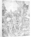 A family of fauns by Giovanni Battista Palumba