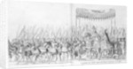 The Entry of Pope Clement VII and Emperor Charles V into Bologna by Nicholas Hogenberg