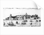 The West Prospect of the Town of Liverpool, as it appeared about the year 1680 by John Eyes Jnr
