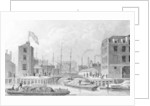 Entrance to the Regent's Canal, Limehouse by Thomas Hosmer Shepherd