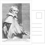 Orazio Gentileschi, print made by Lucas Vorsterman by Sir Anthony van Dyck
