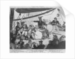 A Scene on board a Margate Hoy by English School