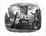 Home in Shadow by George Cruikshank
