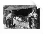 Outcasts Sleeping in Sheds in Whitechapel by English School