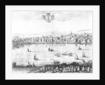 A View of the River Thames from Southwark by Rombout Van den Hoeye