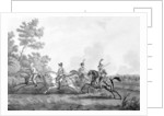 Flight of Bonaparte from the Field of Waterloo accompanied by his Guide by George Cruikshank