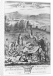 The death of the hare with the fleet hounds by English School