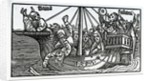 Frontispiece to the English translation of Sebastian Brandt's 'The Ship of Fools' by German School