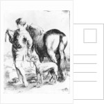Boy with a Horse and Two Dogs by Adam Elsheimer