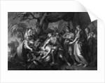 Achilles laments the death of Patroclus by Gavin Hamilton