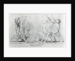 The Seven Against Thebes by John Flaxman