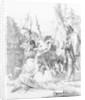 A Capriccio from the series 'Scherzi de Fantasia' by Giovanni Battista Tiepolo