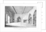 Prison Room in Beauchamp Tower by English School