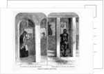 Friends visiting Prisoners at the House of Correction, Coldbath Fields by English School