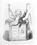The Clerical Magistrate by George Cruikshank